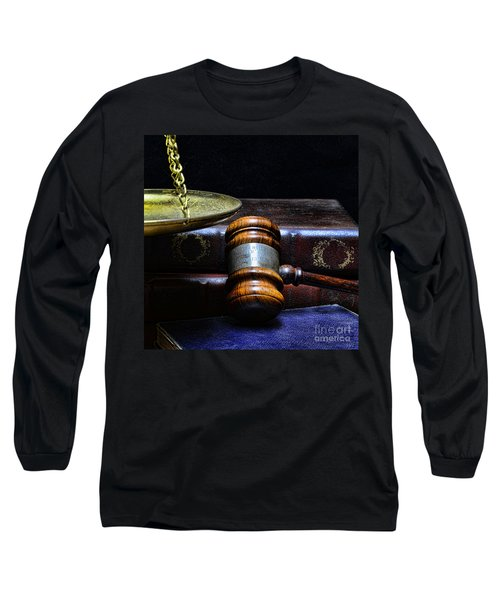 Lawyer - Books Of Justice Long Sleeve T-Shirt