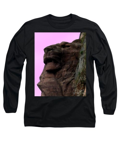 le Lion de Bartholdi Long Sleeve T-Shirt