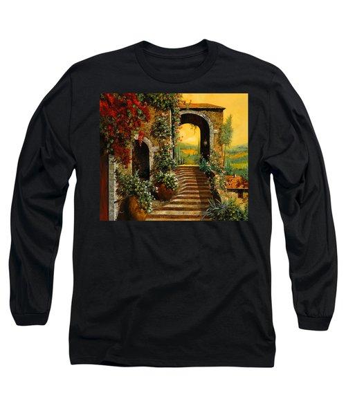 Le Scale   Long Sleeve T-Shirt