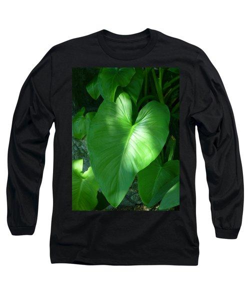 Leaf Heart Long Sleeve T-Shirt