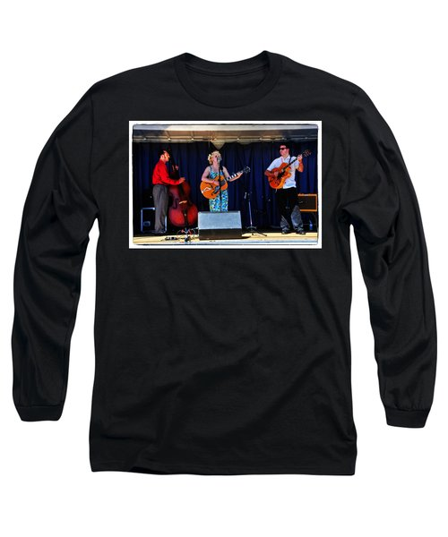 Long Sleeve T-Shirt featuring the photograph Leah And Her J Walkers by Mike Martin