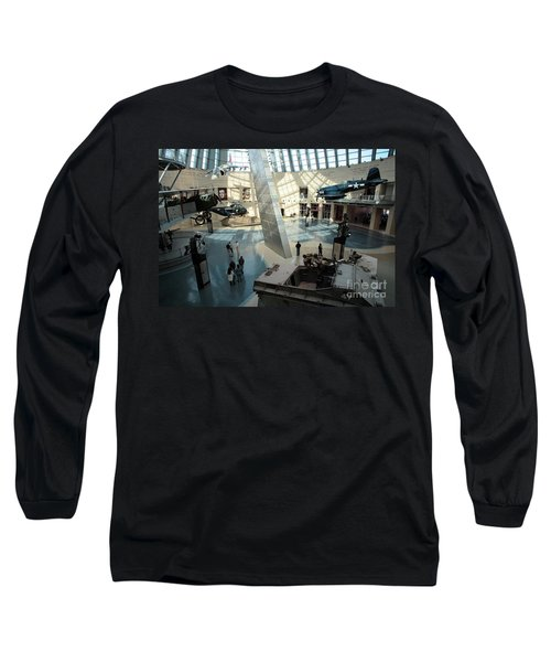 Leatherneck Gallery At The Marine Corps Museum Long Sleeve T-Shirt