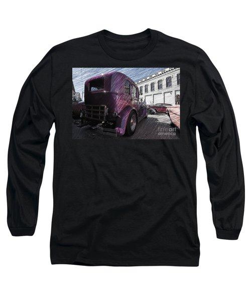 Leavenworth Kansas Long Sleeve T-Shirt by Liane Wright