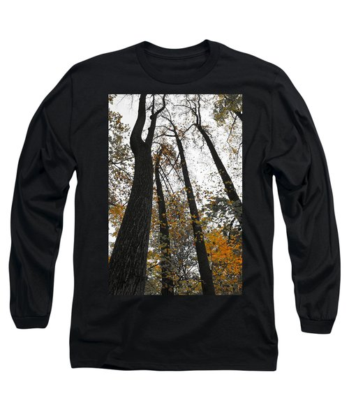 Leaves Lost Long Sleeve T-Shirt by Photographic Arts And Design Studio
