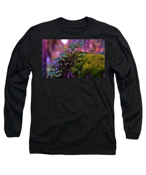 Leaves On A Log Long Sleeve T-Shirt