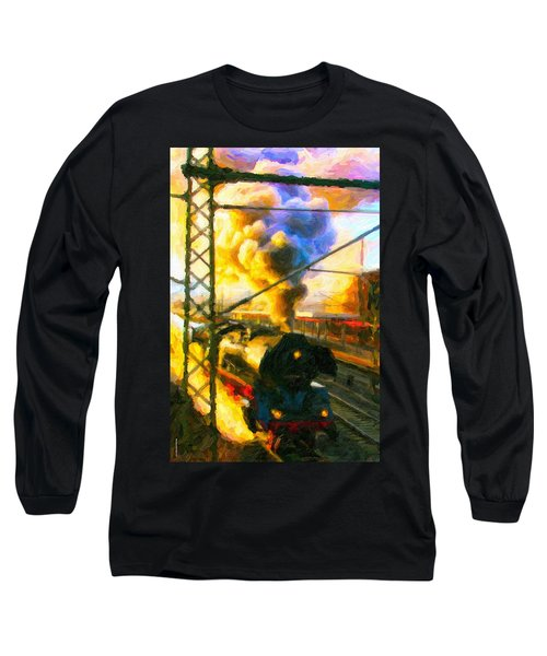 Leaving The Station Long Sleeve T-Shirt