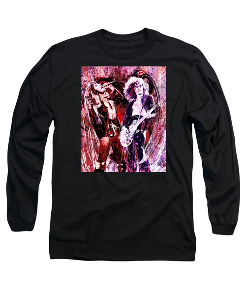 Led Zeppelin - Jimmy Page And Robert Plant Long Sleeve T-Shirt