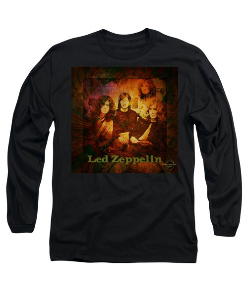 Led Zeppelin - Kashmir Long Sleeve T-Shirt
