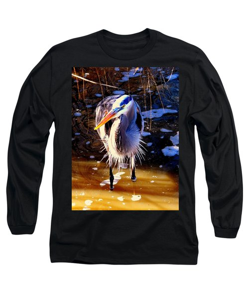 Long Sleeve T-Shirt featuring the photograph Legs by Faith Williams