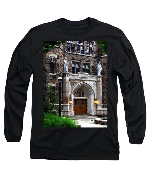 Lehigh University Bethlehem Packard Laboratory Long Sleeve T-Shirt by Jacqueline M Lewis