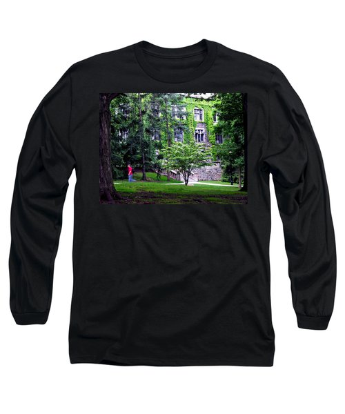 Lehigh University Campus Long Sleeve T-Shirt by Jacqueline M Lewis