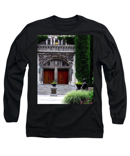 Lehigh University Leadership Plaza Bethlehem Pa Long Sleeve T-Shirt by Jacqueline M Lewis