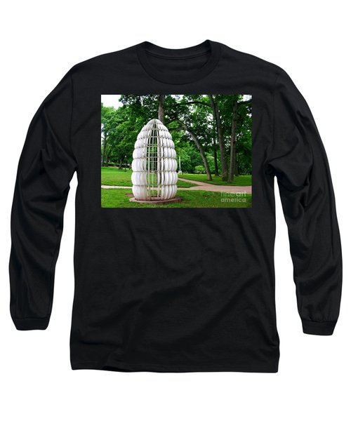 Lehigh University Sculpture Long Sleeve T-Shirt by Jacqueline M Lewis