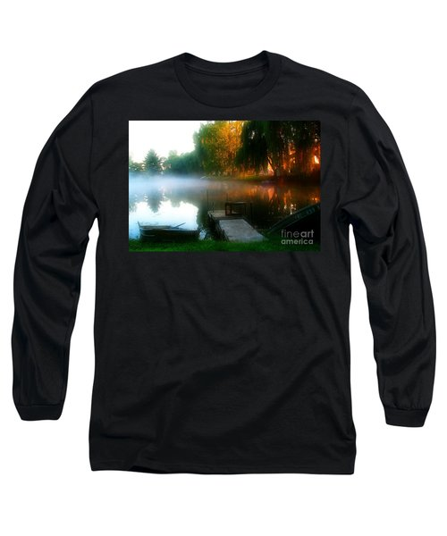 Leidy Lake Campground Long Sleeve T-Shirt by Douglas Stucky
