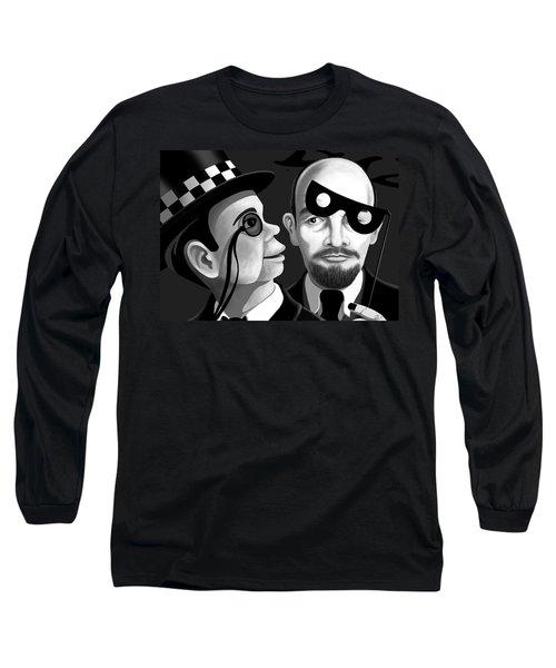 Lenin And Mccarthy   Long Sleeve T-Shirt by Tom Dickson