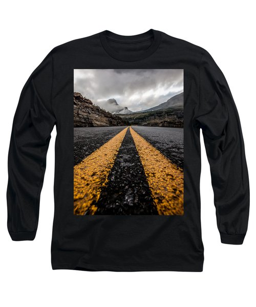 Less Traveled Long Sleeve T-Shirt by Aaron Aldrich