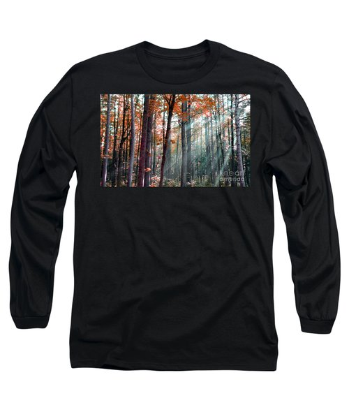 Let There Be Light Long Sleeve T-Shirt by Terri Gostola