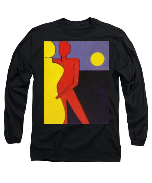 Long Sleeve T-Shirt featuring the painting Let's Dance by Patricia Cleasby
