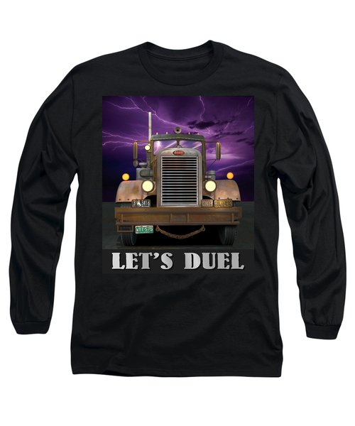 Let's Duel Long Sleeve T-Shirt by Stuart Swartz