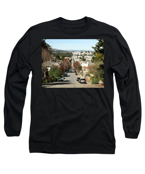 Long Sleeve T-Shirt featuring the photograph Let's Take It From The Top by Carol Lynn Coronios