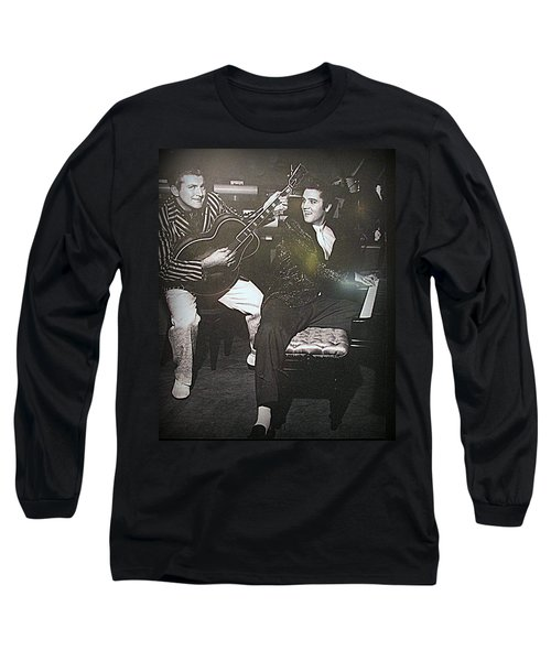Liberace And Elvis Long Sleeve T-Shirt