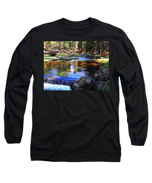 Life By A Babbling Brook Long Sleeve T-Shirt