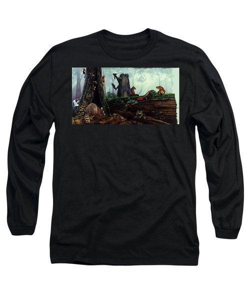Life In A Dead Tree Long Sleeve T-Shirt