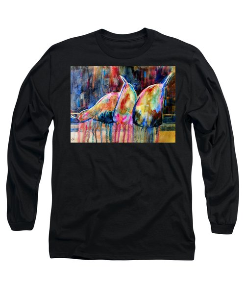 Life In Color Long Sleeve T-Shirt
