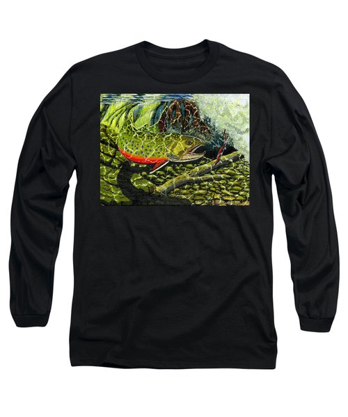 Life Under The Brook Long Sleeve T-Shirt
