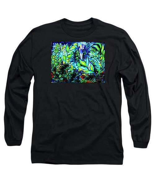 Long Sleeve T-Shirt featuring the painting Life Without Filters by Hazel Holland