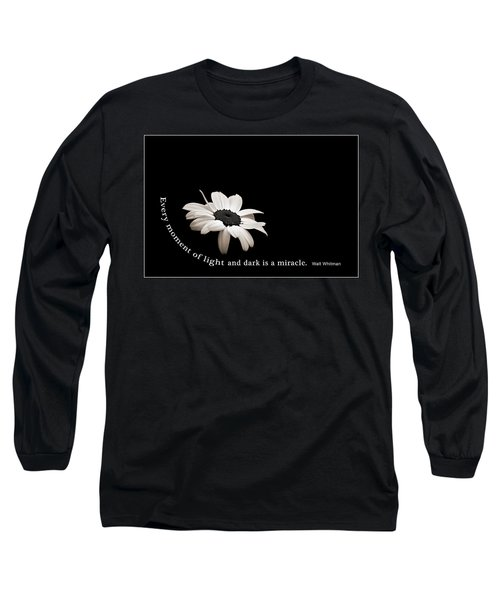 Light And Dark Inspirational Long Sleeve T-Shirt
