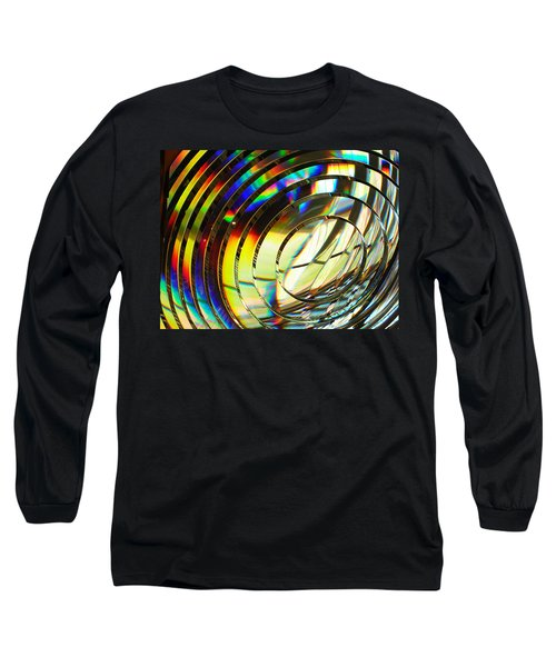Light Color 1 Prism Rainbow Glass Abstract By Jan Marvin Studios Long Sleeve T-Shirt