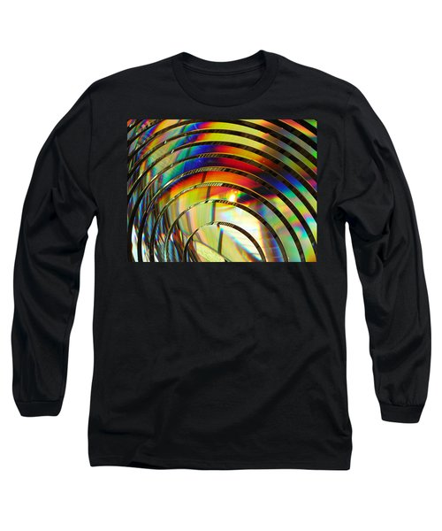 Light Color 2 Prism Rainbow Glass Abstract By Jan Marvin Studios Long Sleeve T-Shirt