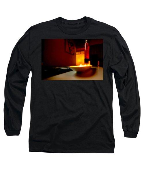 Light The Bottle Long Sleeve T-Shirt by Melinda Ledsome