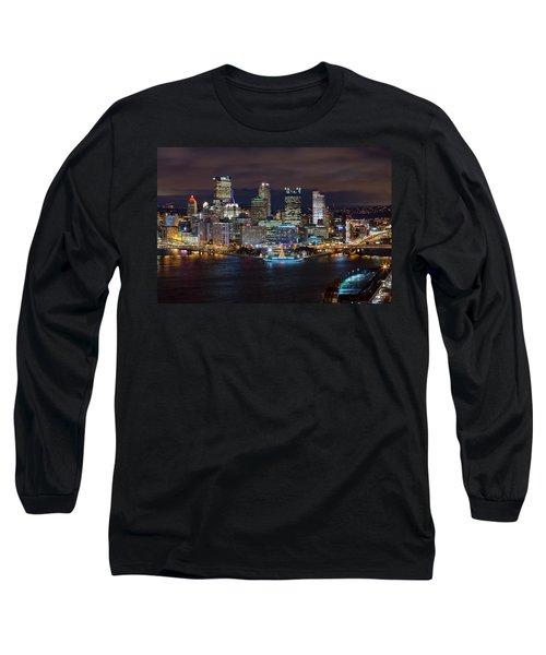 Light Up Night Pittsburgh 3 Long Sleeve T-Shirt