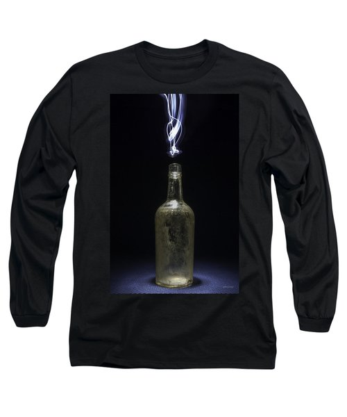 Lighting By The Quart - Light Painting Long Sleeve T-Shirt by Steven Milner
