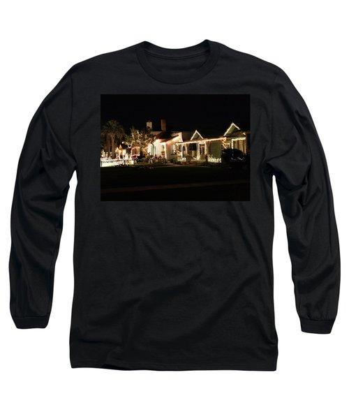 Lights Long Sleeve T-Shirt by Michael Gordon