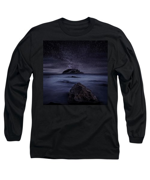 Lights Of The Past Long Sleeve T-Shirt by Jorge Maia