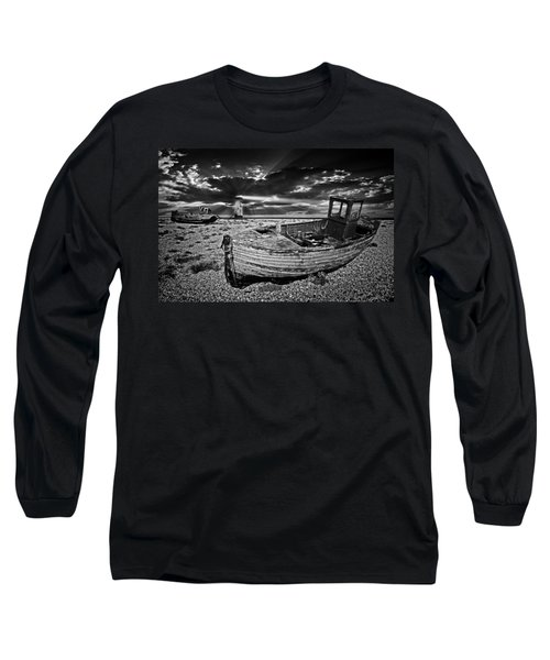 Like Moths To The Flame Long Sleeve T-Shirt by Meirion Matthias