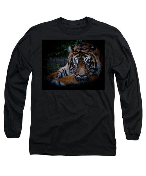 Like My Eyes? Long Sleeve T-Shirt by Robert L Jackson