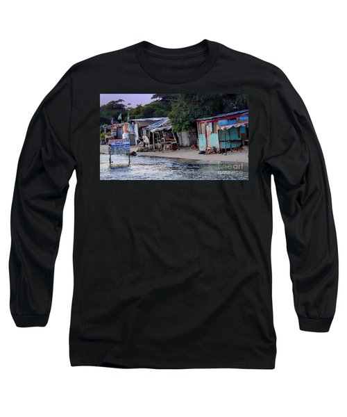 Liliput Craft Village And Bar Long Sleeve T-Shirt