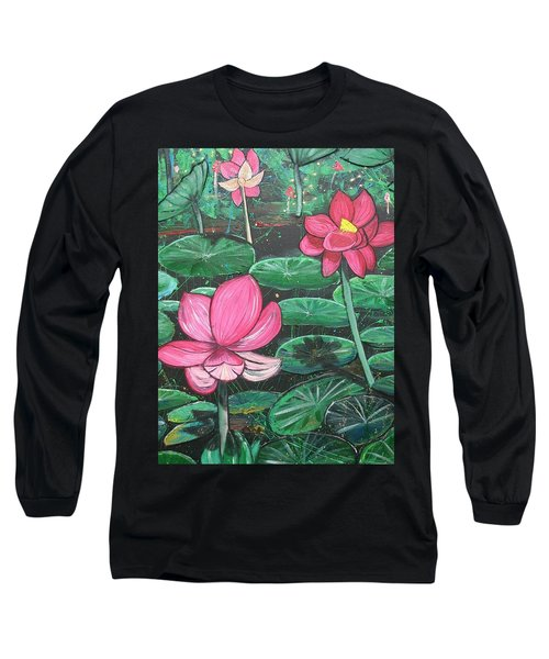 Lillies Long Sleeve T-Shirt