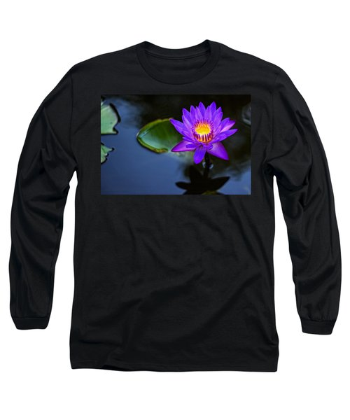 Lily Awakens Long Sleeve T-Shirt by Dave Files