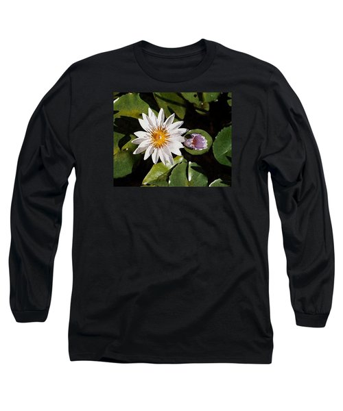 Lily Flowers Long Sleeve T-Shirt