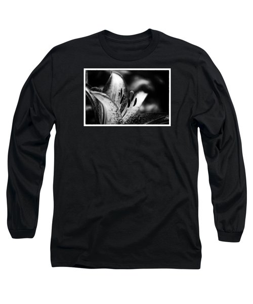 Lily Surprise Long Sleeve T-Shirt by Shelly Gunderson