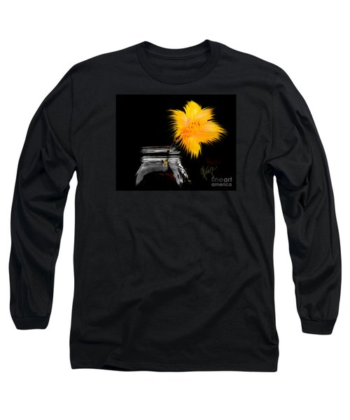 Lily Yellow Long Sleeve T-Shirt