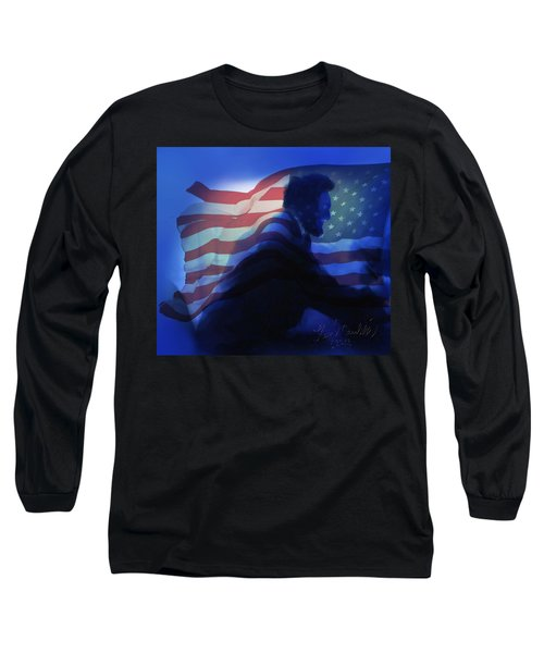 Lincoln Long Sleeve T-Shirt by Kevin Caudill