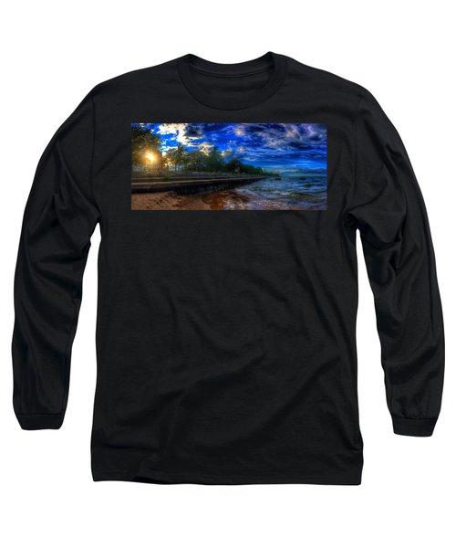 Lincoln Park Sunset Long Sleeve T-Shirt