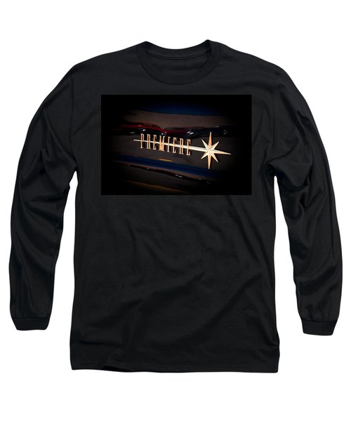 Long Sleeve T-Shirt featuring the photograph Lincoln Premiere Emblem by Joann Copeland-Paul