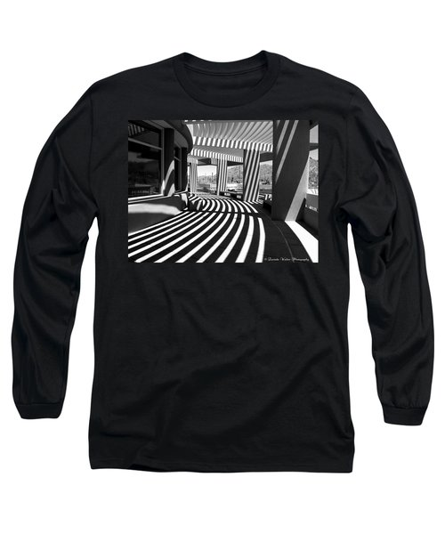 Lines And Curves Long Sleeve T-Shirt